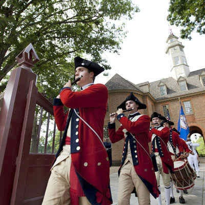 Colonial Williamsburg local attractions