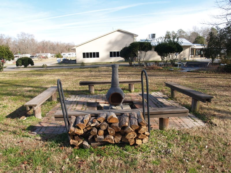 White Tail Fire Pit